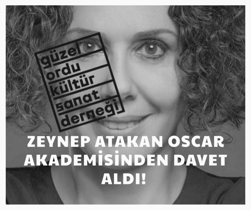 Harika Uygur'dan Sonra Zeynep Atakan da Akademiye Seçildi!